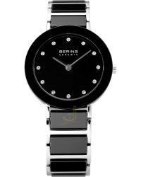 Bering black-Ceramic Ladies-Watch 11429-742