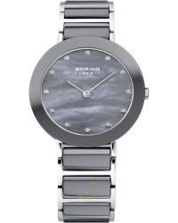 11429-789 Bering Grey-Ceramic Ladies-Watch