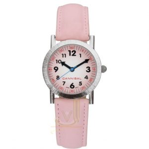 Cannibal Colours Pink Strap Childrens Watch