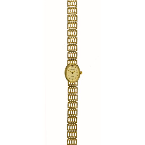 Accurist 9ct Gold Watch GD1512