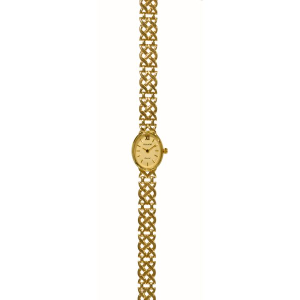 Accurist 9ct Gold Watch GD1517