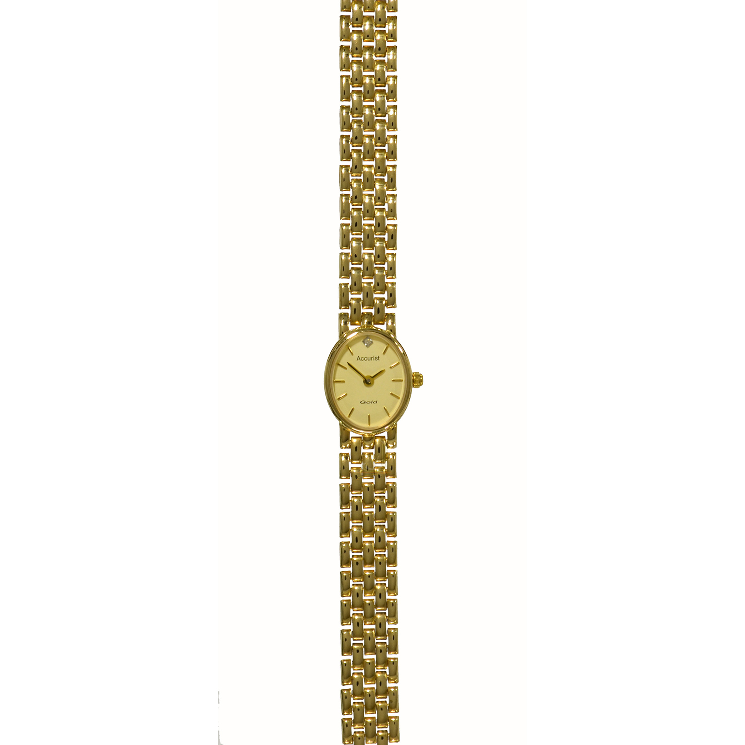 Accurist 9ct Gold Watch GD1551