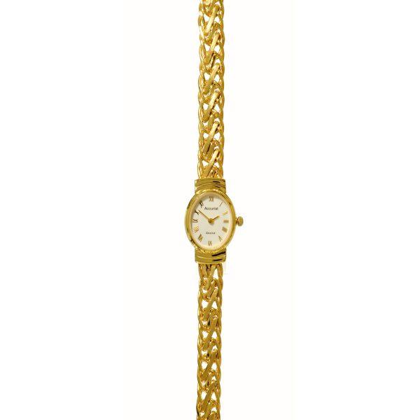 Accurist 9ct Gold Watch GD1620-M