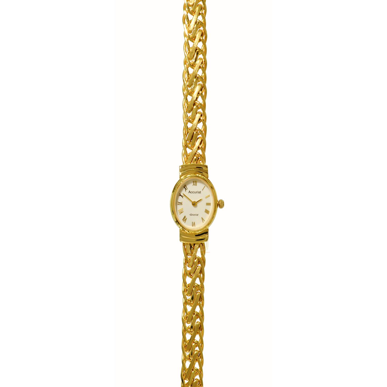 Accurist 9ct Gold Watch GD1620 M