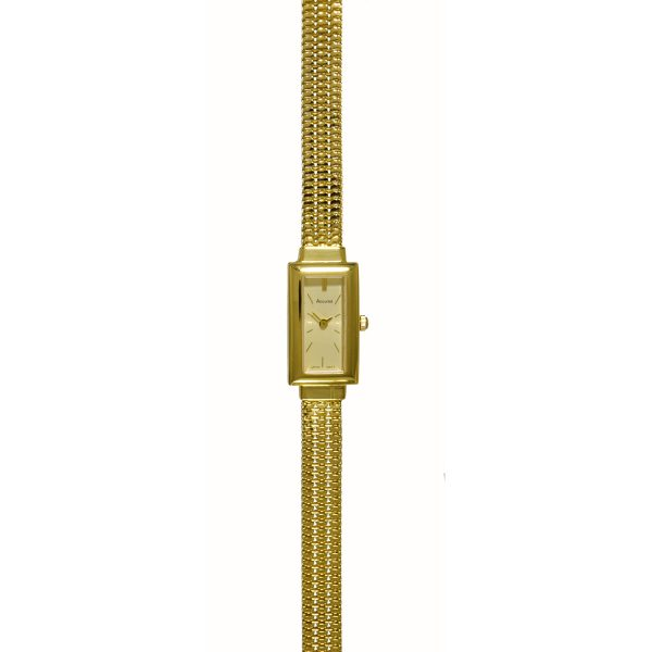 Accurist 9ct Gold Watch GD1628