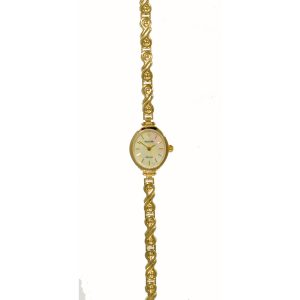 GD1845 Accurist 9ct Gold Ladies Watch