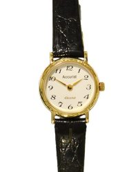 Accurist 9ct Gold Watch GD784