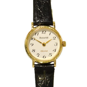 GD784 Accurist 9ct Gold Ladies Watch