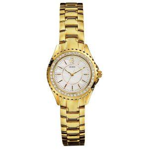 GUESS Mini Rock Candy Gold PVD Bracelet Watch