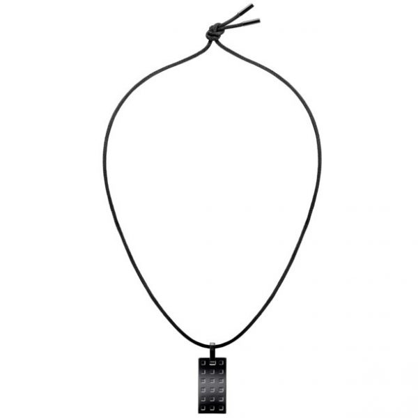 Calvin Klein Grid Necklace KJ41AP010200