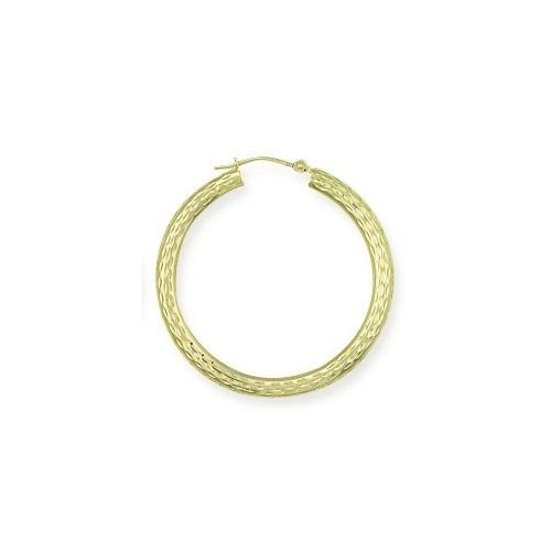 9ct Gold Creoles Earrings ER0612