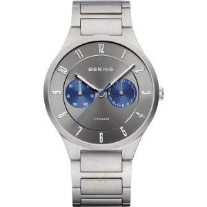 Bering Full Titanium Gents Watch 11539-777