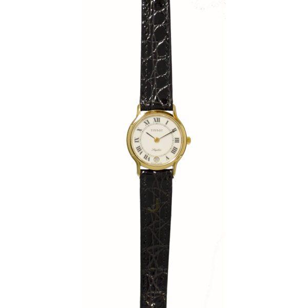 Tissot 9ct Gold Ladies Watch T310F606