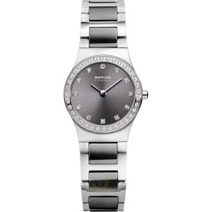 Bering Grey Ceramic Ladies Watch 32426-703