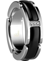 Bering Ceramic Link Ring 502-16-X5