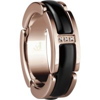 Bering Ceramic Link Ring 502-36-X5