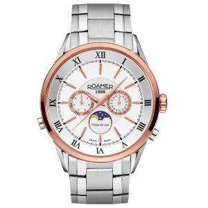 508821 49 13 50 Roamer Superior Moon-phase Watch