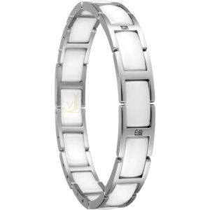 Bering Time 602-15-185 Ladies Ceramic Link Bracelet