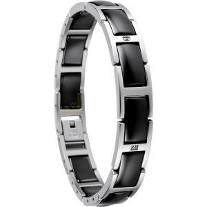 Bering Time 602-16-185 Ladies Ceramic Link Bracelet