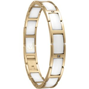 Bering Time 602-25-185 Ladies Ceramic Link Bracelet