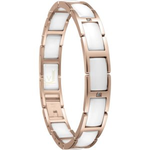 Bering Time 602-35-185 Ladies Ceramic Link Bracelet