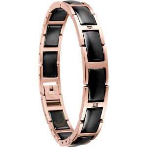 Bering Time 602-36-185 Ladies Ceramic Link Bracelet