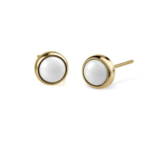 Bering Time 701-25-05 Ladies Ceramic Bubble Earring