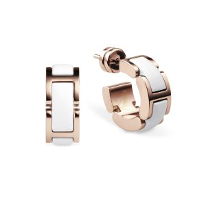 Bering Time 702-35-05 Ladies Ceramic link Earring