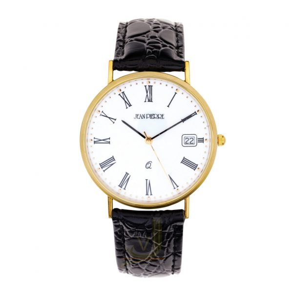 9G201 Jean Pierre 9 Carat Gold Gents Watch