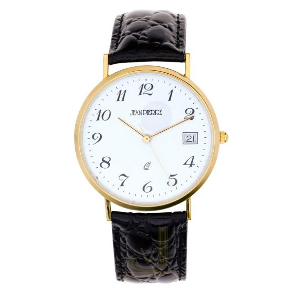 9G203 Jean Pierre 9 Carat Gold Gents Watch