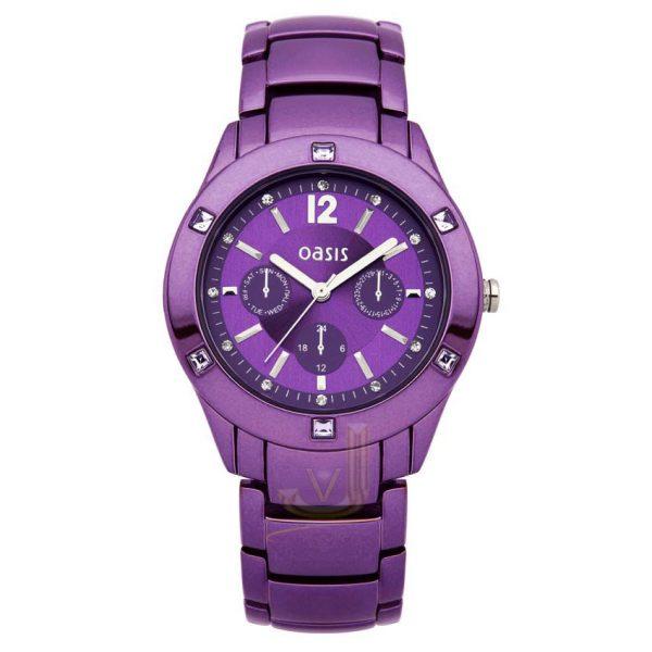 B1263 Oasis Dusky Purple Ladies Watch