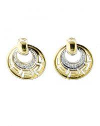 Greek Design Diamonds Earrings CHP070ER