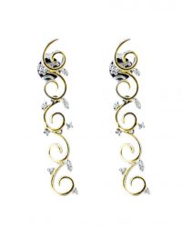 18ct Diamonds Drop Earrings CHP126ER