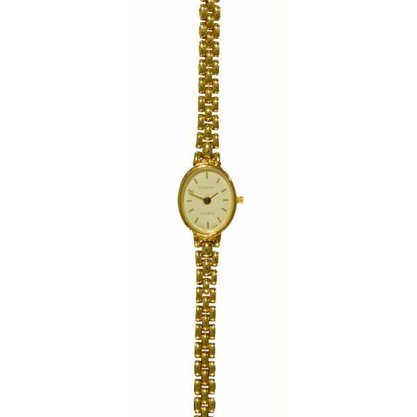 Tissot 9ct Gold Ladies Watch D15W104