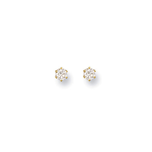18ct Gold Diamond Studs DER0004