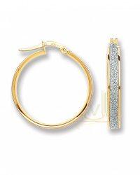 Gold Moon-Dust Hoop Earrings ER1414