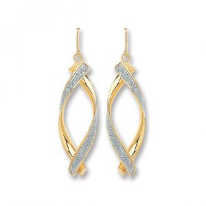 Gold Fancy Drop Earring ER1419