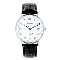 G325 Jean Pierre Silver Gents Watch