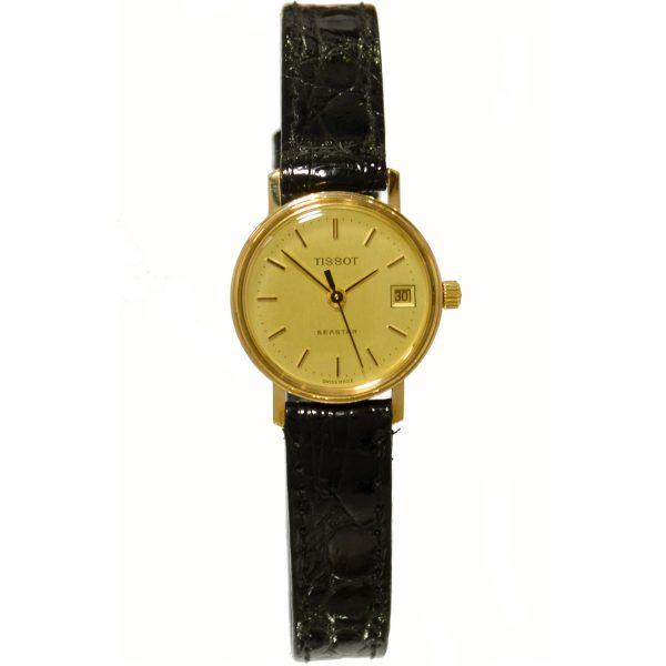 Tissot 9ct Gold Ladies Watch G6023102
