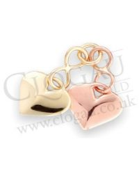 Clogau Gold Inner Double Heart Charm ICCH12