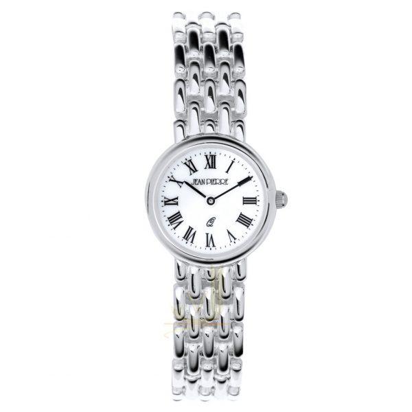 L532 Jean Pierre Sterling Silver Ladies Watch