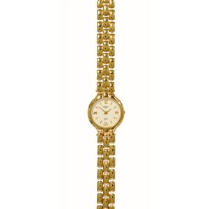 Rotary 9ct Gold Bracelet Ladies Watch LB1704-01