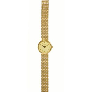 Rotary 9ct Gold Bracelet Ladies Watch LB8404-07