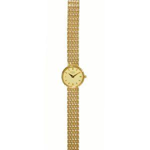 Rotary 9ct Gold Bracelet Ladies Watch LB8404-07
