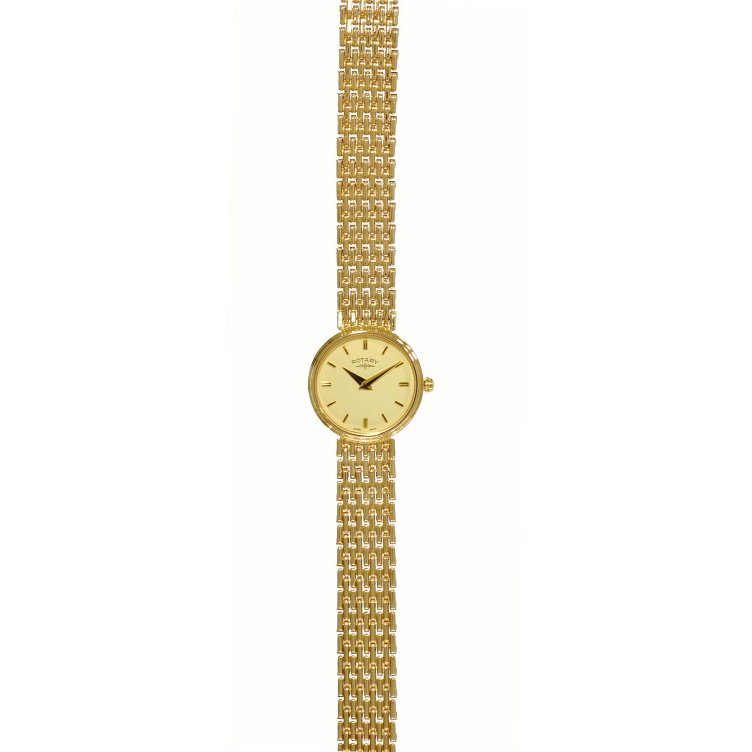 Rotary 9ct Gold Ladies Watch LB8404 07