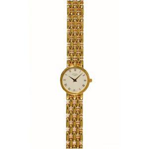Rotary 9ct Gold Bracelet Ladies Watch LB8434