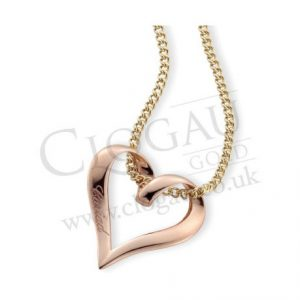 Clogau Gold 9ct Gold CloseToMy Heart Pendant