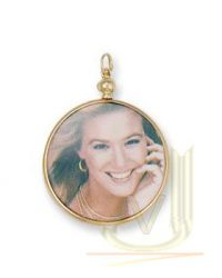 9ct Gold Picture Locket PD0235