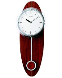 Seiko Wooden Wall Clock QXC205Y
