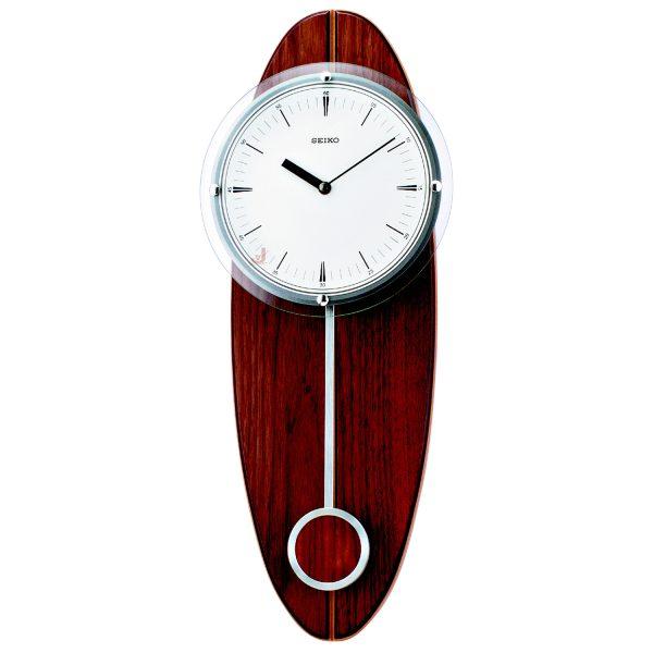 QXC205Y Seiko Wooden Longcase Wall Clock